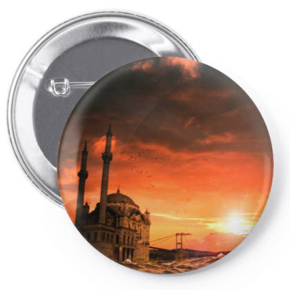 Istanbul Pin-back Button Designed By Omerpsd