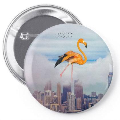 Flamingo Pin-back Button Designed By Josef.psd