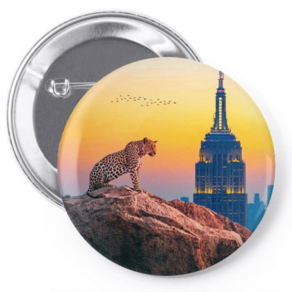 Tiger Pin-back Button Designed By Josef.psd