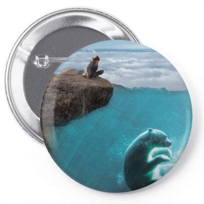 Polar Bear Pin-back Button Designed By Josef.psd