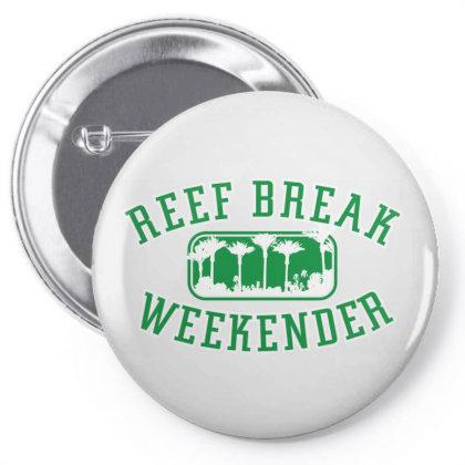Reef Break Weekender Pin-back Button Designed By Estore