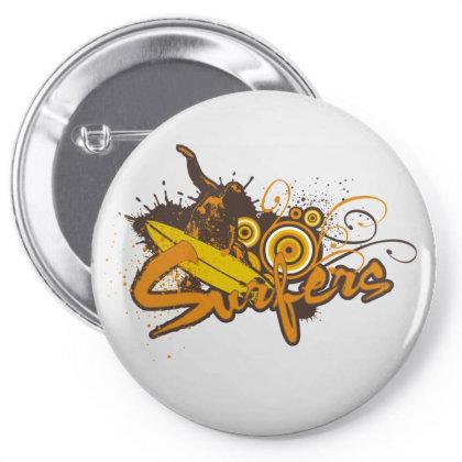 Surfers Pin-back Button Designed By Estore
