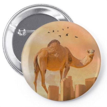 Camel Pin-back Button Designed By Josef.psd