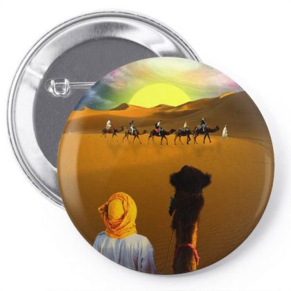 Space Desert Pin-back Button Designed By Josef.psd