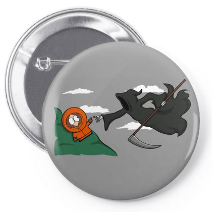 The Extinction! Pin-back Button Designed By Raffiti