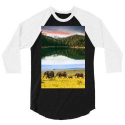 ANIMALS PERSPECTIVE 2 3/4 Sleeve Shirt | Artistshot
