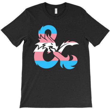 Transgender Dungeons And Dragons T-shirt Designed By Honeysuckle
