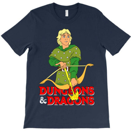 Dungeons And Dragons Hank T-shirt Designed By Honeysuckle
