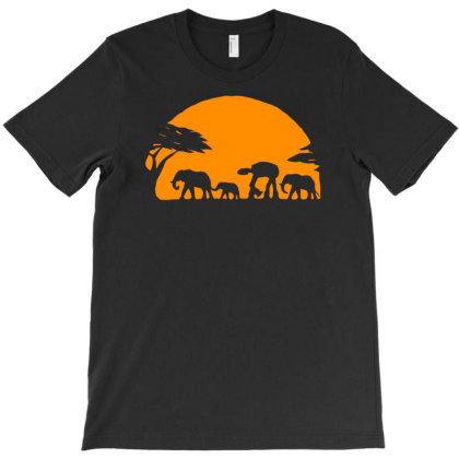 Sunset In Africa Funny Humor T-shirt Designed By Ramateeshirt