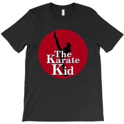 The Karate Kid Red Sun T-shirt Designed By Honeysuckle