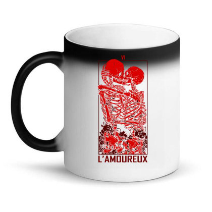 The Lovers Graphic Art Magic Mug Designed By Coolkids