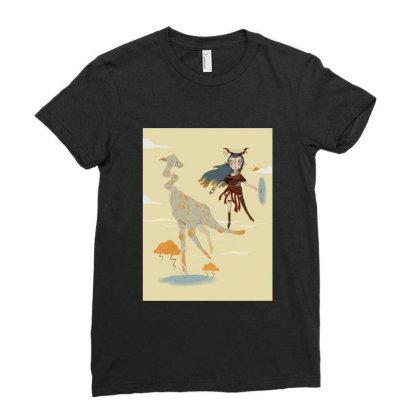 Love Ladies Fitted T-shirt Designed By Derinaslan