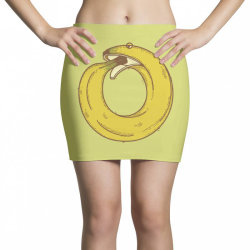 banana snake Mini Skirts   Artistshot