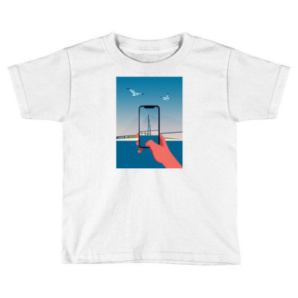 Bridge Toddler T-shirt Designed By Evluk