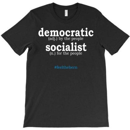 Democratic Socialist Bernie Sanders Relaxed Art T-shirt Designed By Animestars