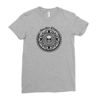 Shaitan Khopdi Ladies Fitted T-shirt Designed By Core Design Lab