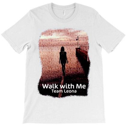 Team Leona St. Jude Walk T-shirt Designed By Animestars