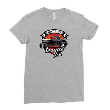 Torque Fest Ladies Fitted T-shirt Designed By Core Design Lab