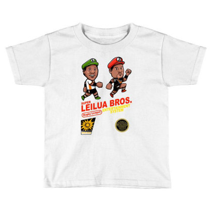 Super Leilua Bros. Rugby League Entertainment Systems Toddler T-shirt Designed By Animestars