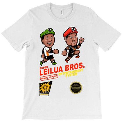 Super Leilua Bros. Rugby League Entertainment Systems T-shirt Designed By Animestars