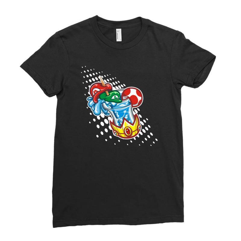 Mario Bros Ladies Fitted T-shirt | Artistshot