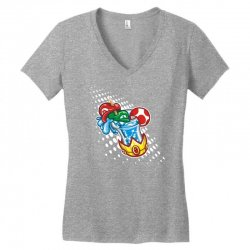 mario bros Women's V-Neck T-Shirt | Artistshot