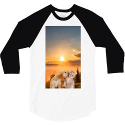 Animals 3/4 Sleeve Shirt | Artistshot