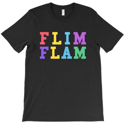 Flim Flam Mixed Colors T-shirt Designed By Honeysuckle