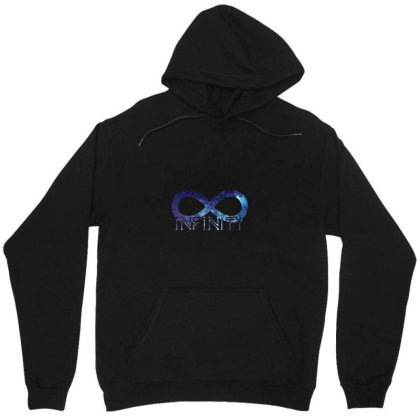 Infinity Unisex Hoodie Designed By Thejas Suresh