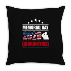 memorial day 2020 quarantine Throw Pillow   Artistshot