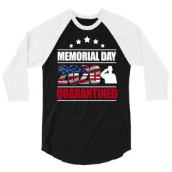 memorial day 2020 quarantine 3/4 Sleeve Shirt | Artistshot