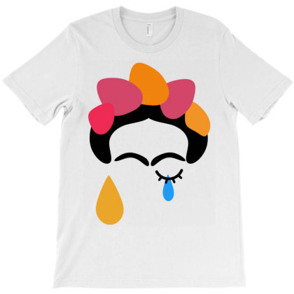 Frida Forever T-shirt Designed By Pedralouca