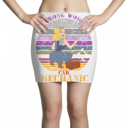strong women,car mechanic Mini Skirts | Artistshot