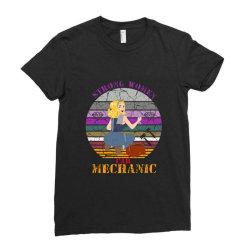 strong women,car mechanic Ladies Fitted T-Shirt | Artistshot