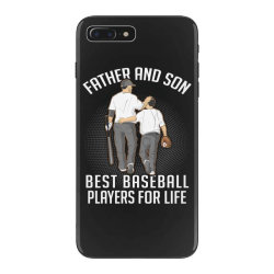father and son best basebal players for life iPhone 7 Plus Case | Artistshot