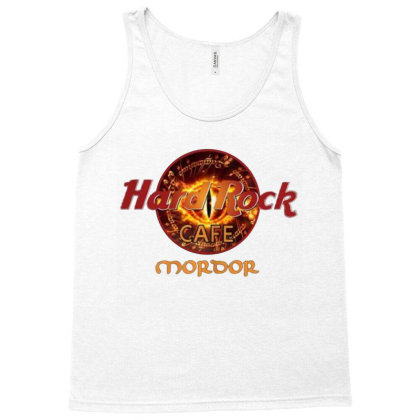 Hard Rock Cafe Mordor Tank Top Designed By Cuser3143