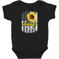 january girl Baby Bodysuit | Artistshot
