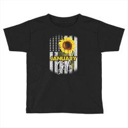 january girl Toddler T-shirt | Artistshot