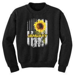 january girl Youth Sweatshirt | Artistshot