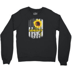 january girl Crewneck Sweatshirt | Artistshot