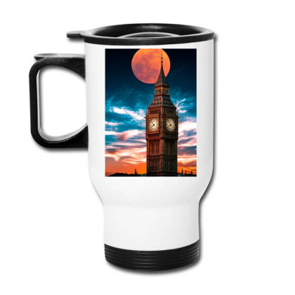 Clock Tower Travel Mug Designed By Sherif.arts