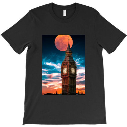 Clock Tower T-shirt Designed By Sherif.arts