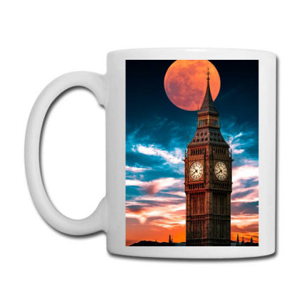 Clock Tower Coffee Mug Designed By Sherif.arts