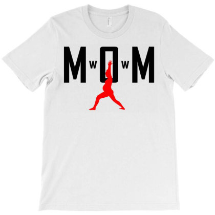 Mom Wow T-shirt Designed By Shirt1na