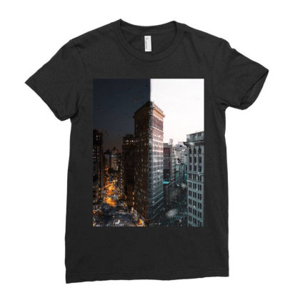 Building Ladies Fitted T-shirt Designed By Keremcgrc