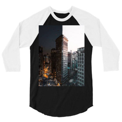 Building 3/4 Sleeve Shirt Designed By Keremcgrc