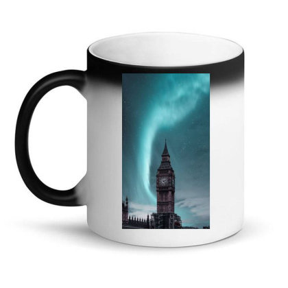 Clock Tower Magic Mug Designed By Yasinylcu