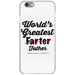 world's greatest farter   funny dad   father's day gift   dad joke iPhone 6/6s Case | Artistshot