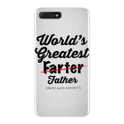 world's greatest farter   funny dad   father's day gift   dad joke iPhone 7 Plus Case | Artistshot