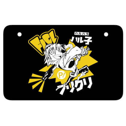 Flcl Atv License Plate Designed By Paísdelasmáquinas